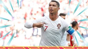 World Cup 2018: Portugal 1-0 Morocco highlights