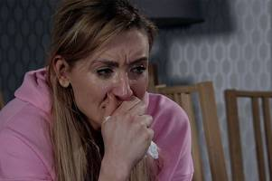 Catherine Tyldesley pays emotional goodbye to Coronation Street