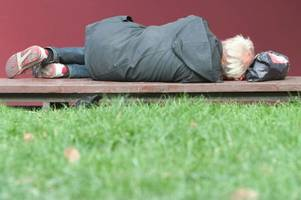 figures reveal how much homelessness has risen in lincoln since 2010