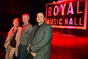 welcome to the royal music hall - hanley's newest and biggest nightclub
