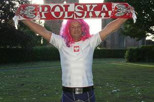 poland football fan takes part of arbroath fc history to world cup in russia