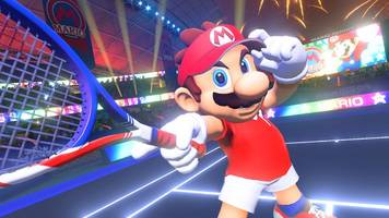 mario tennis aces is great, but it's not the game we expected