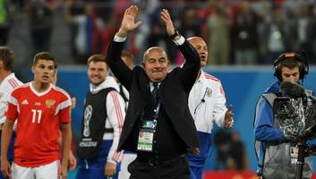 ​russia coach stanislav cherchesov insists team's incredible start to world cup is 'no accident'
