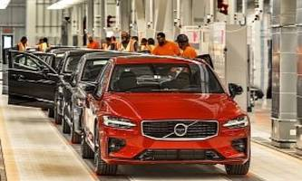 volvo open u.s. plant with the launch of the s60