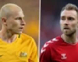 aaron mooy vs christian eriksen: the battle to decide australia's world cup clash with denmark