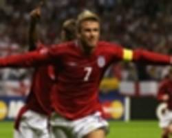 David Beckham tips Kane to face Messi in England versus Argentina World Cup final