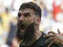 Denmark 1-1 Australia: Mile Jedinak equalises with penalty controversially awarded by VAR