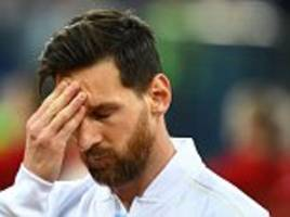 sampaoli blames messi's poor performances on his argentina team mates