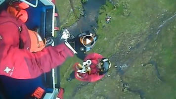 teenager rescued from river gorge near ben nevis