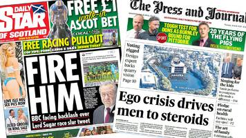 the papers: 'ego crisis' driving male steroid use