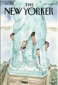 Next Week's Cover Of The New Yorker Features Migrant Children Hiding Behind Statue Of Liberty's Robes