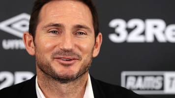 lampard's derby start season at reading as championship fixtures announced