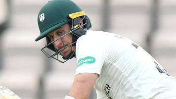 county championship: worcestershire's daryl mitchell hits second ton against lancashire