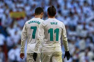 real madrid stars cristiano ronaldo and gareth bale poised to join manchester united, reports say