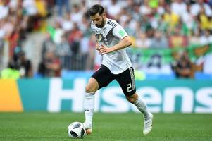 Leicester City linked with Germany left-back Marvin Plattenhardt