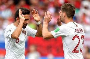 why adrien silva's world cup yellow card could prove costly for portugal