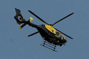 Latest: Cheltenham man arrested after lengthy police helicopter and dog pursuit through two counties