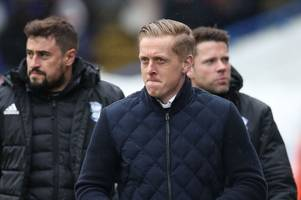 garry monk has a message for blues fans as birmingham city's fixtures are revealed