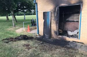 chelmsford rugby club fire being treated as arson by essex police