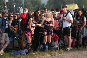 glastonbury festival: when the gates opened - looking back at day one of the 2017 festival