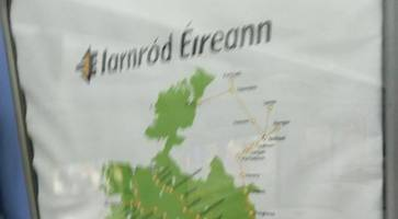 sinn fein mp hits out at 'hovercraft' map of northern ireland