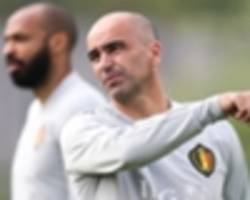 Martinez searching for balance to keep World Cup contenders Belgium on right path