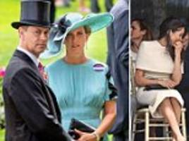 is prince edward and wife sophie worried about meghan markle