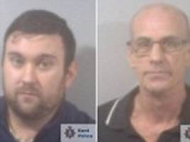 Kent father and son drug dealers jailed after police find cocaine and cannabis after routine stop
