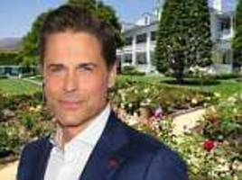 live next door to oprah! rob lowe lists his montecito mansion for $47 million