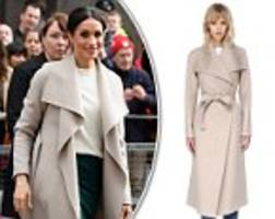 Meghan Markle's Mackage coat goes UP in price after she wore it in Belfast