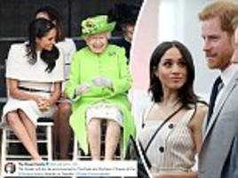 Meghan and Harry will attend Her Majesty's Young Leaders reception next week