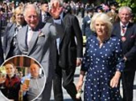 prince charles and camilla visit salisbury to give the city 'a boost' following nerve agent attack