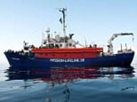 Italy's interior minister turns back ship carrying 224 migrants