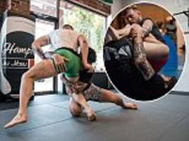 conor mcgregor trains with dillon danis in new york as irishman sets sights on ufc return