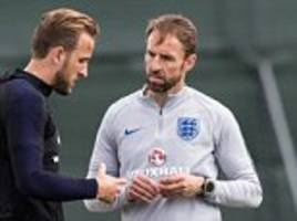 no sign of panama hats as england and southgate reach for tin hats
