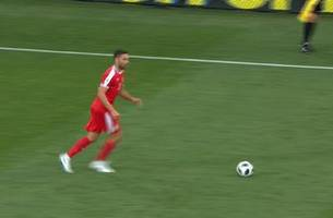 MITROVIC (Serbia) has a shot which is off target