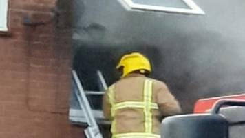 Gateshead fire: Three people arrested over flats 'arson'