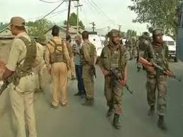 j&k: four crpf, as many policemen injured in terrorist attack in pulwama