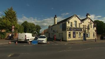 Arrest after shots fired at car near Nottingham pub