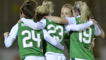 women's scottish cup: hibs meet dundee united, glasgow take on stirling uni