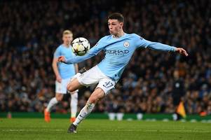 premier league gossip: manchester city wonderkid not squaring up to stoke city