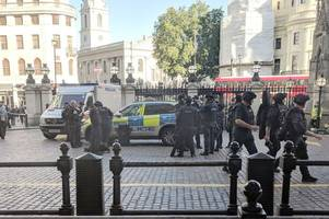 armed police arrest man after tube station bomb threat in london