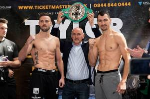 josh taylor has viktor postol's respect by being brave enough to take fight