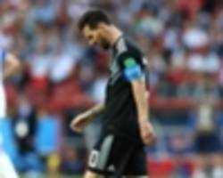 what results do argentina need to progress at the world cup?