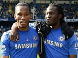 drogba reveals 'tennis player' technique he shared with lukaku who takes world cup tally to four