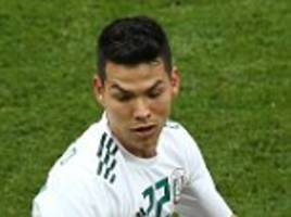 hirving lozano's father reveals barcelona eye move for mexico star
