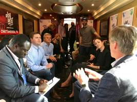 billionaire steve case has taken a big red bus through 26 states to bet $150 million on finding the next big startup — here's where he's looked so far