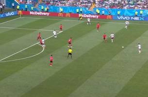 LOZANO (Mexico) has a shot which is off target
