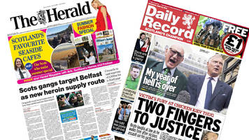 the papers: drug gangs' new supply line