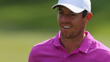 mcilroy three off lead in travelers championship